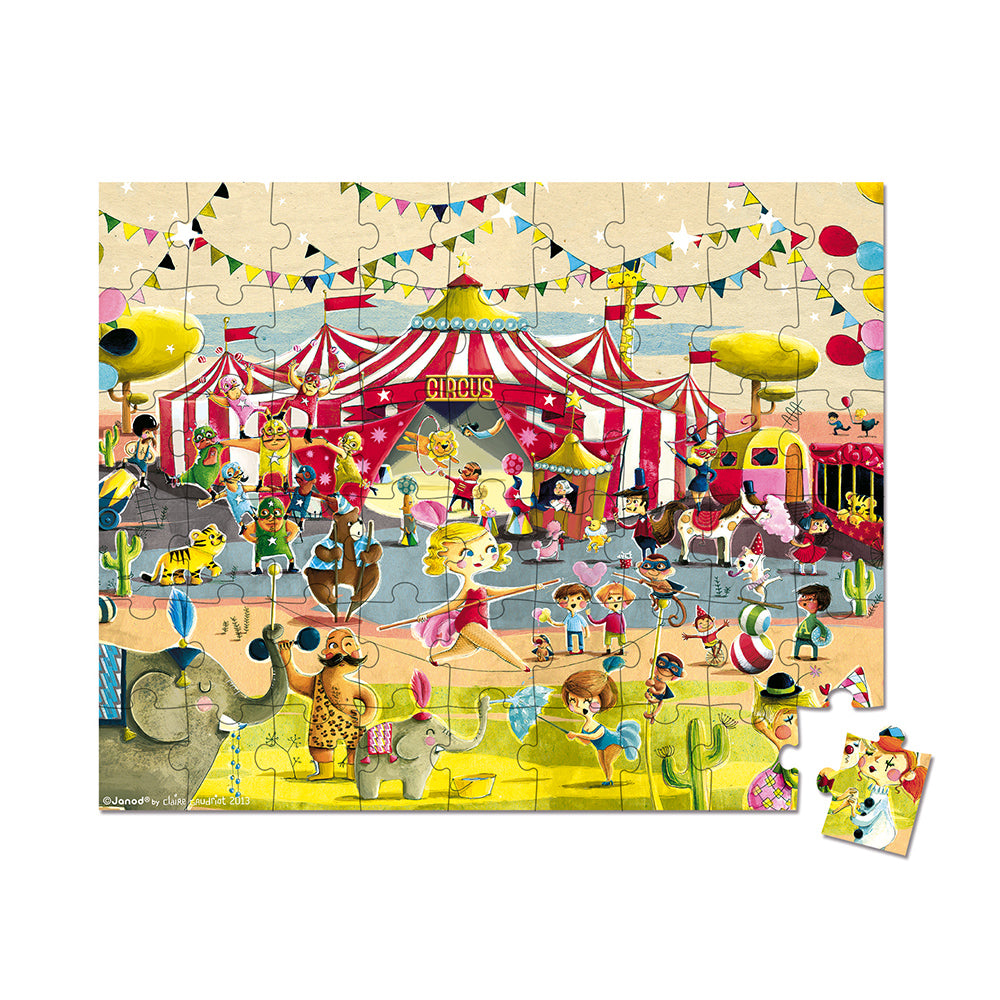 Hat Boxed Puzzle Circus