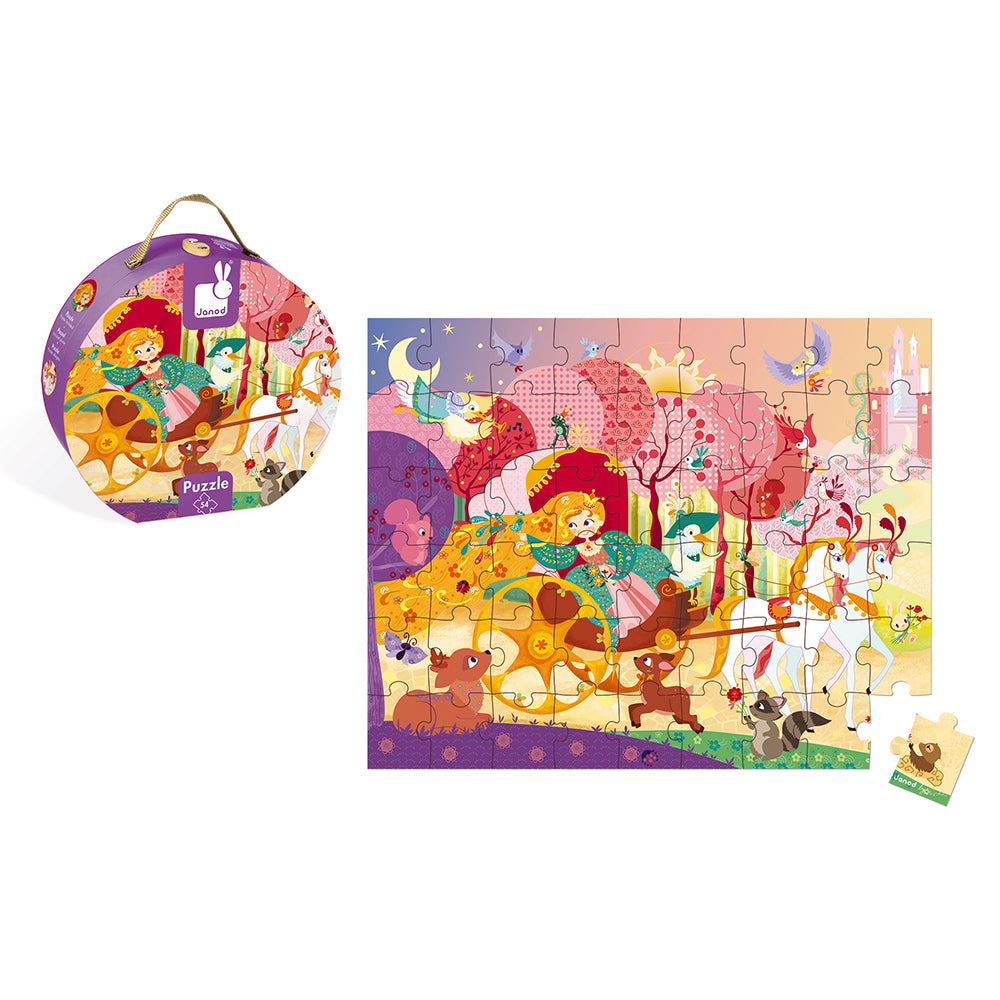 Hat Boxed Puzzle Princess and Coach