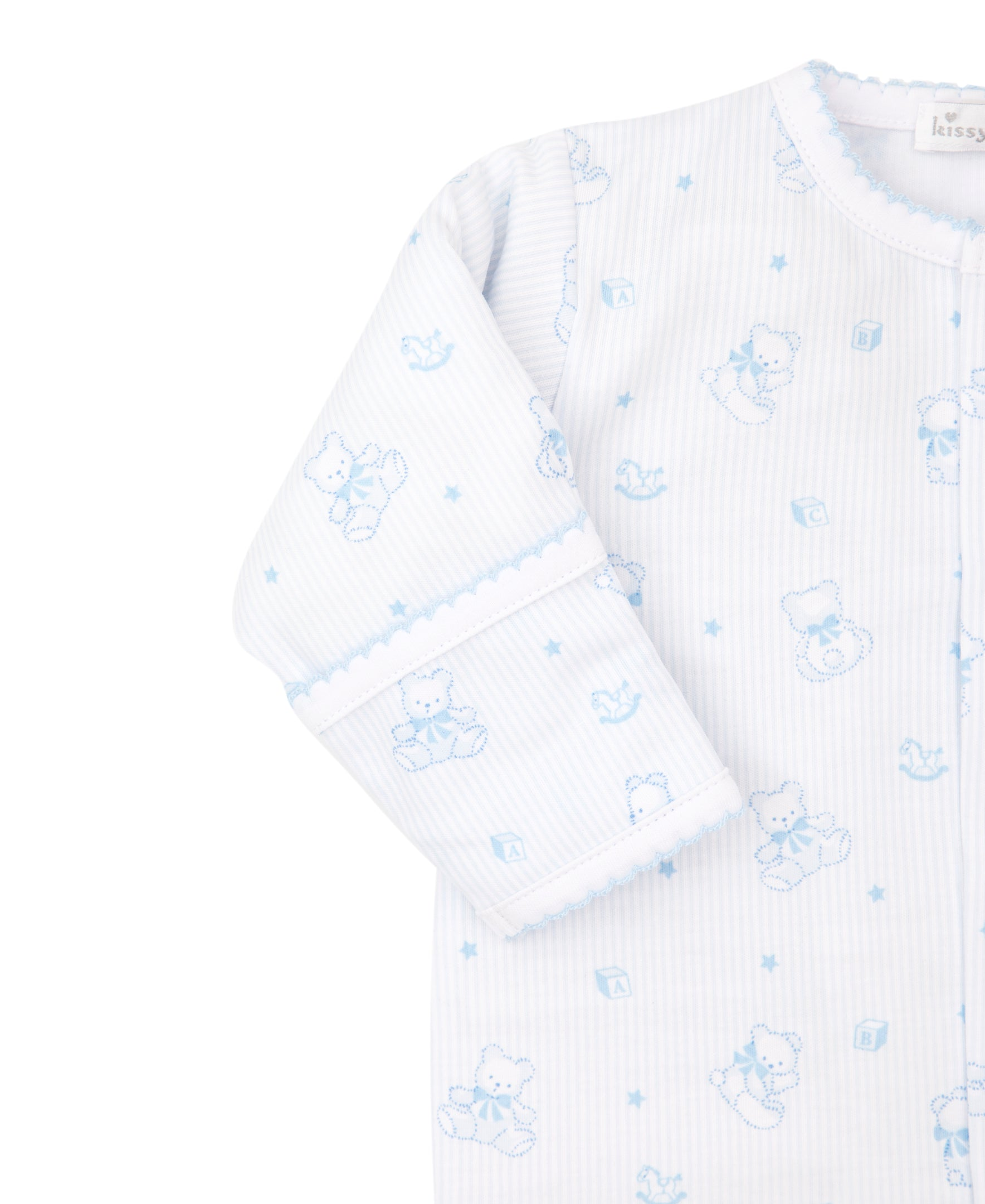Bearly Believable Footie Print PJ