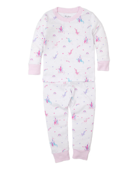 Rainbow Castle Pajama Set