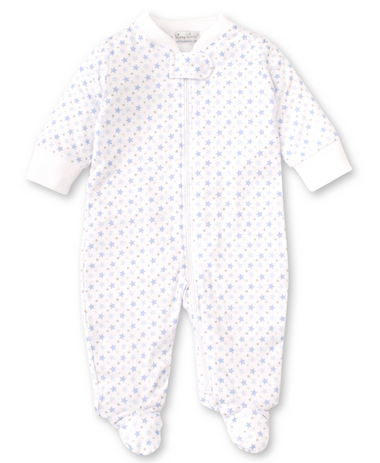 Hearts or Stars Footie PJ with Zipper