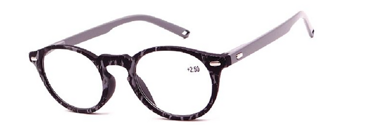 Two Tone Round Rim Readers