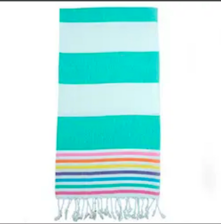 Rainbow Turkish Towel