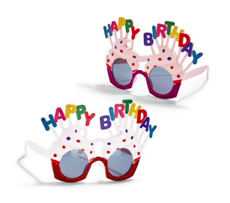 Happy Birthday Party Sunglasses
