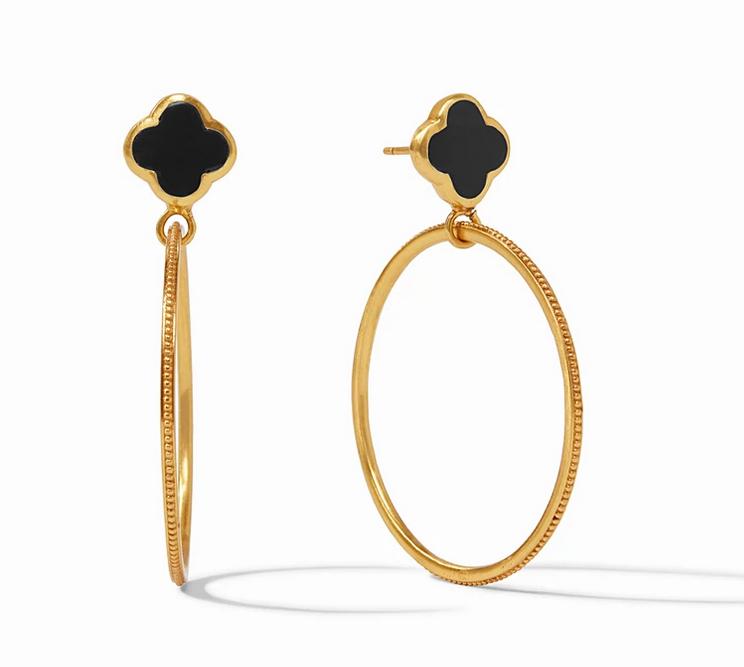 Chloe Cirque Earring Gold Mother of Pearl