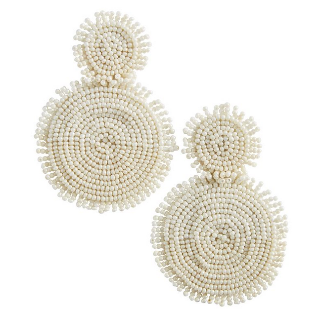 Tonal Beaded Earrings