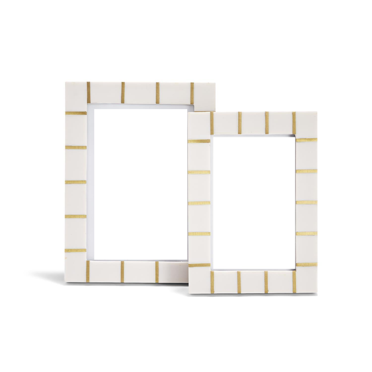 Brass Lines Photo Frame