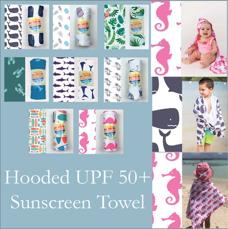 Hooded Upf 50+ Sunscreen Towel
