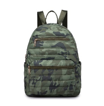 Aiden Green Camo Backpack