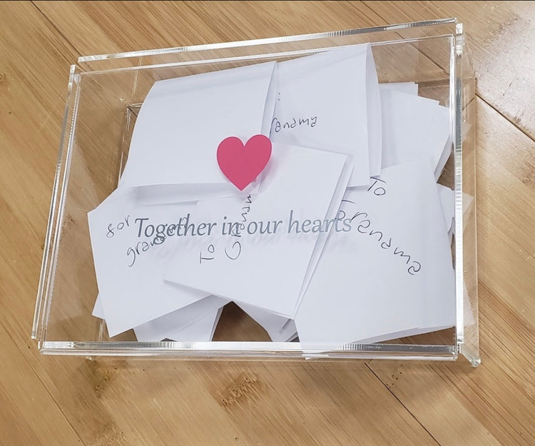 Together in our hearts photo box