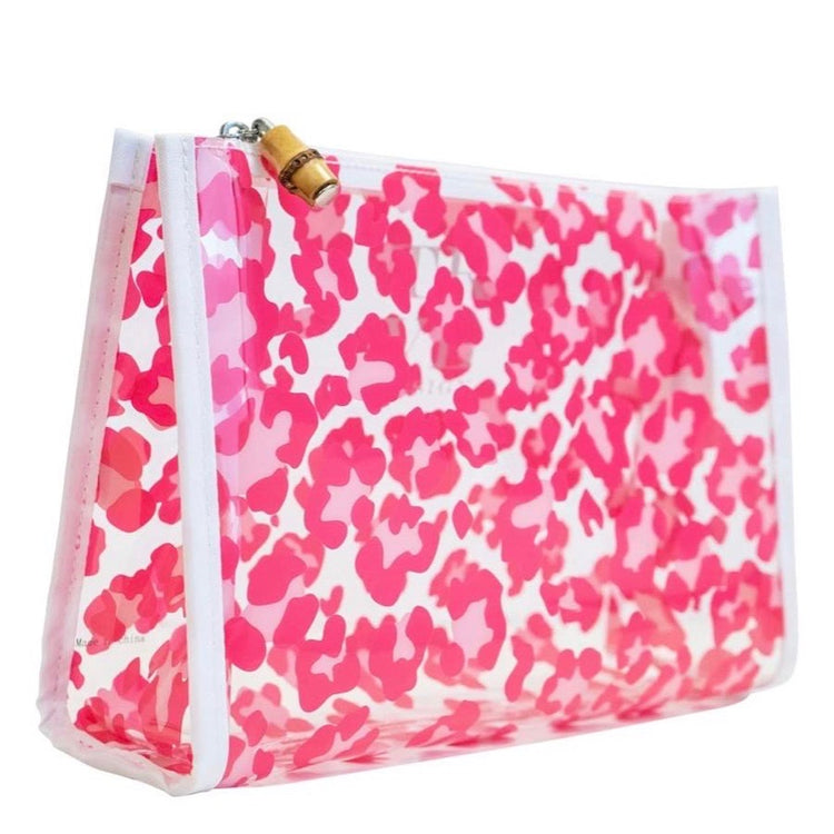 Roadtripper leopard pink