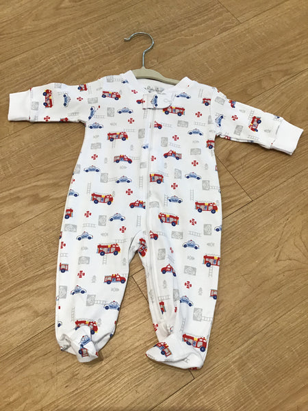 Rescue Team-Footie w/ Zip PRT newborn