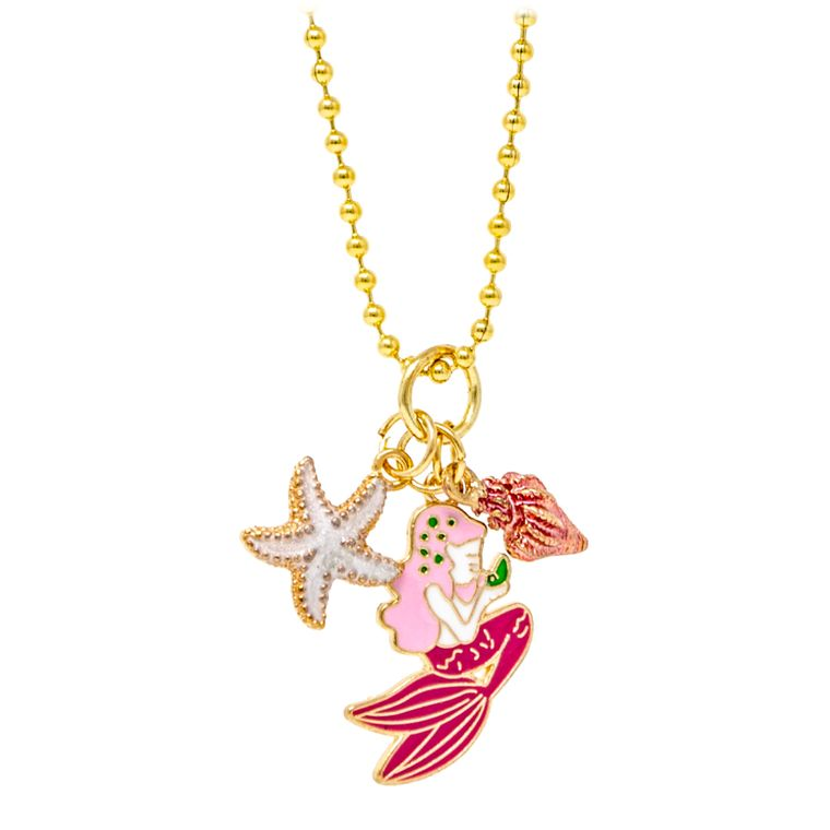 Mermaid, Star and Shell Necklace