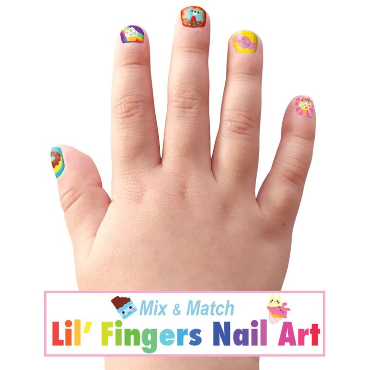 Lil' Fingers Nail Art- Sweet Shop