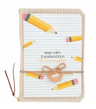 Teacher Notebook and Pouch Set