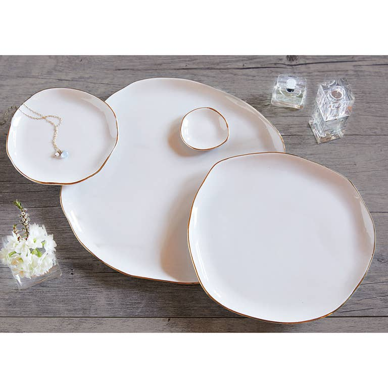 Trickets Tray Dishes in Minimalist Design