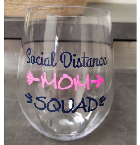 Social Distance Mom Squad