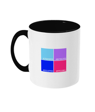 Load image into Gallery viewer, Color Pallette #1 Two Toned Mug