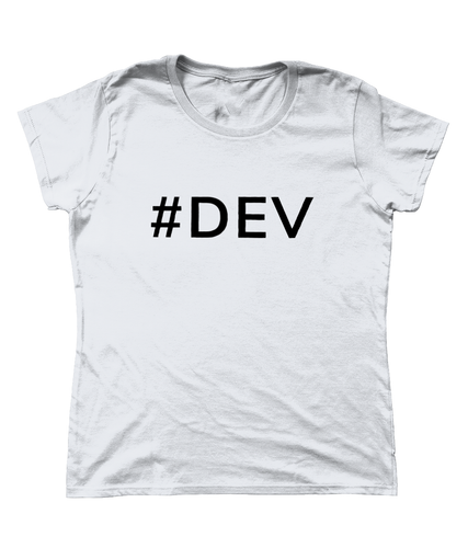 Womens #DEV T-Shirt