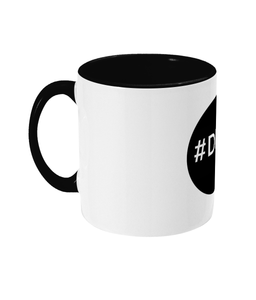 Two-Toned #DevMerch Circle Developer Mug