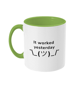 #2 Programmer Sayings Two Toned Mug