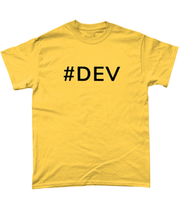 Mens #DEV T-Shirt
