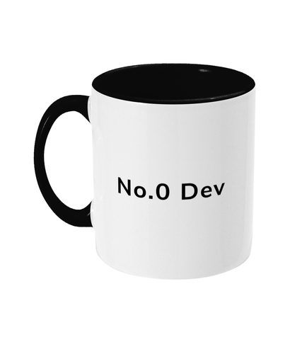 No.0 Dev Two Toned Mug