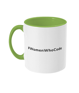 #WomenWhoCode Two Toned Mug