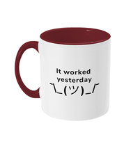 Load image into Gallery viewer, #2 Programmer Sayings Two Toned Mug
