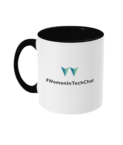 #WomenInTechChat Two Toned Mug