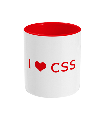 I Love CSS Coffee Mug