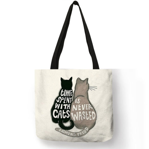 Assorted Cute Cats Tote