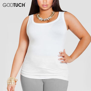 Curvy Cotton Fitness Tank