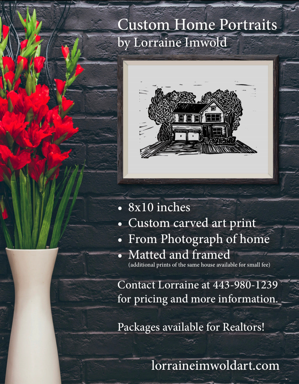 Buy a custom Home Portrait
