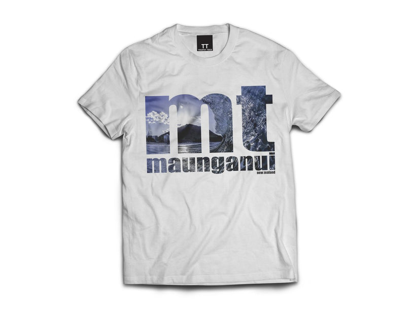 Mt Tube Tee One - White