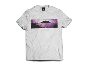 Mt Dusk Two Tee - White