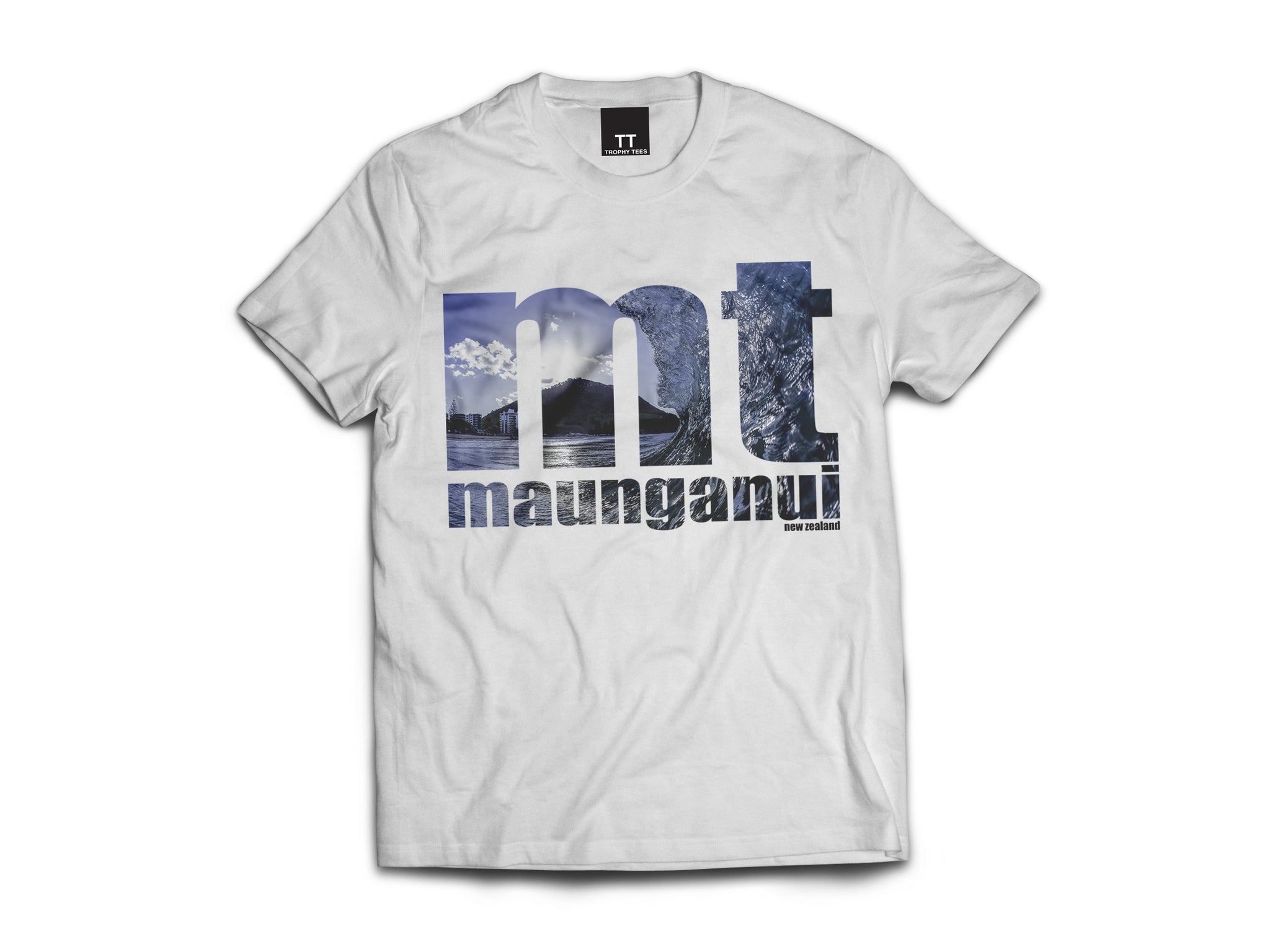 Mt Tube One Tee - White
