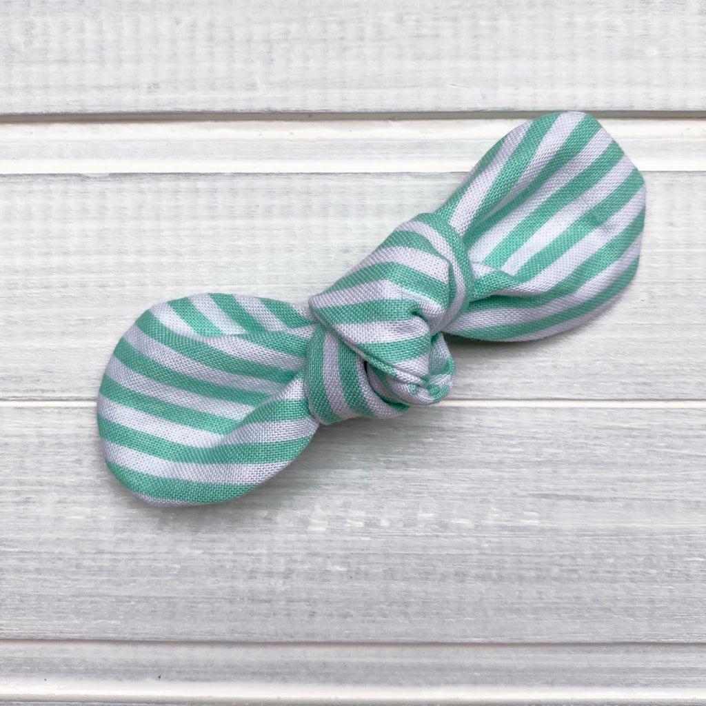 The SAUBLE BEACH Mint Stripes