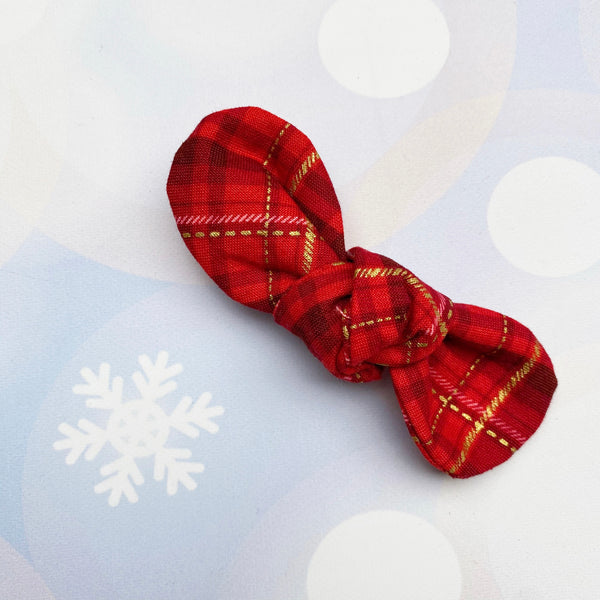 The SANTA's VILLAGE Plaid