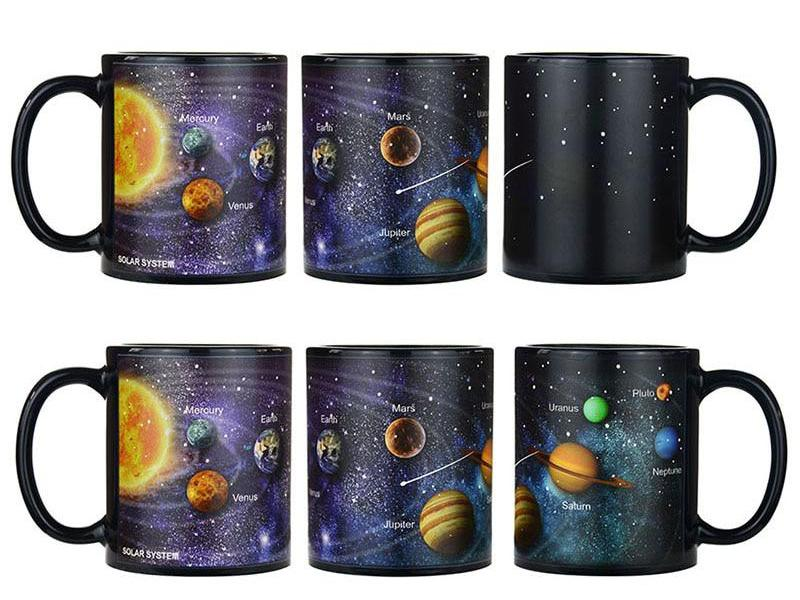 Image-Changing Space Mug
