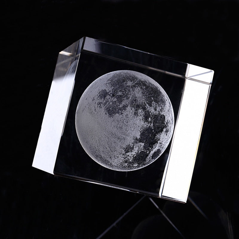 Moon Engraved Crystal