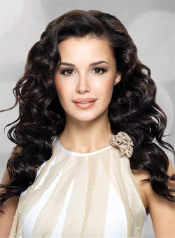 Long Wavy Women Lace Front Cap Synthetic Hair Wigs