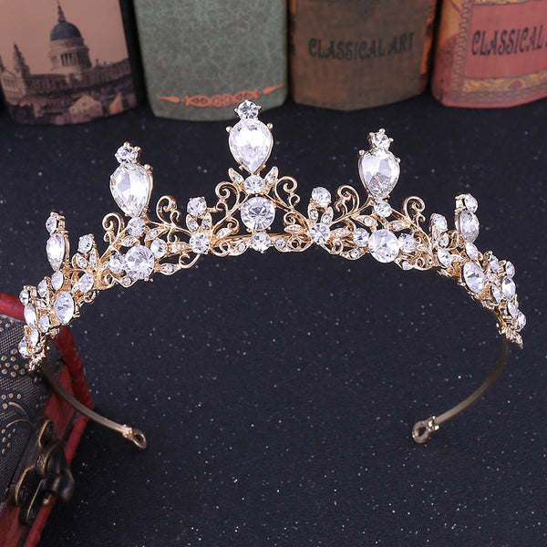 Rhinestone Tiara Crown Hair Accessories (Wedding)
