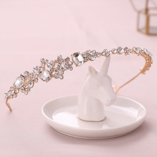 Rhinestone Princess Crown Hair Accessories