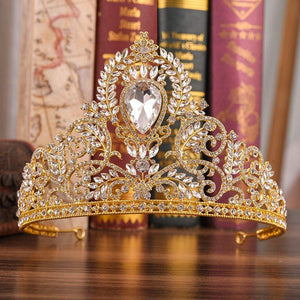 Tiara Diamante European Hair Accessories (Wedding)