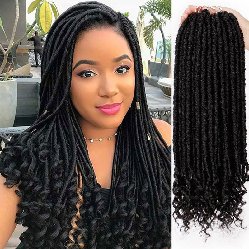 European and American Wigs African Dirty Braid
