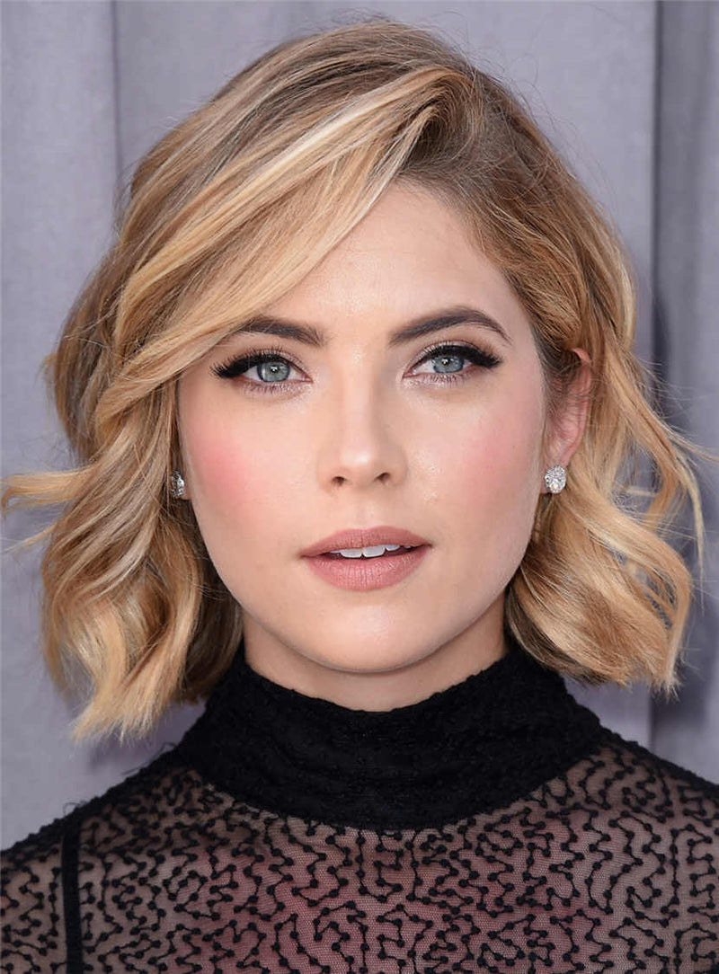 Short Wavy Synthetic Hair Lace Front Women Wigs