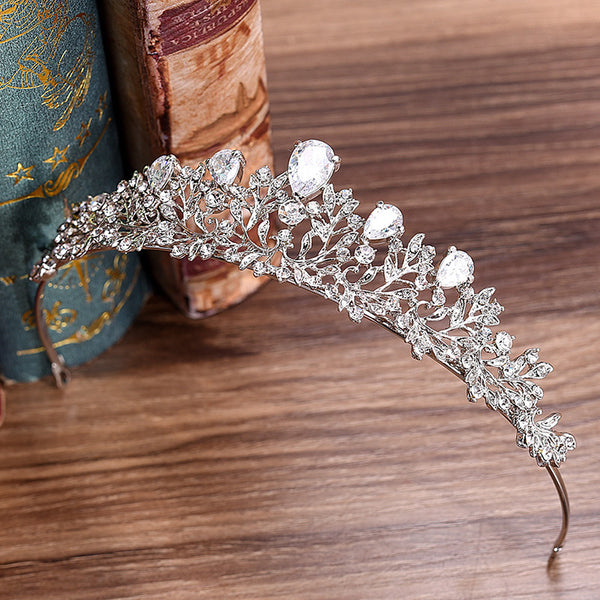 Korean Diamante Leaf Hair Accessories (Wedding)