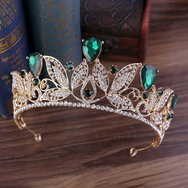 European E-Plating Tiara Hair Accessories (Wedding)