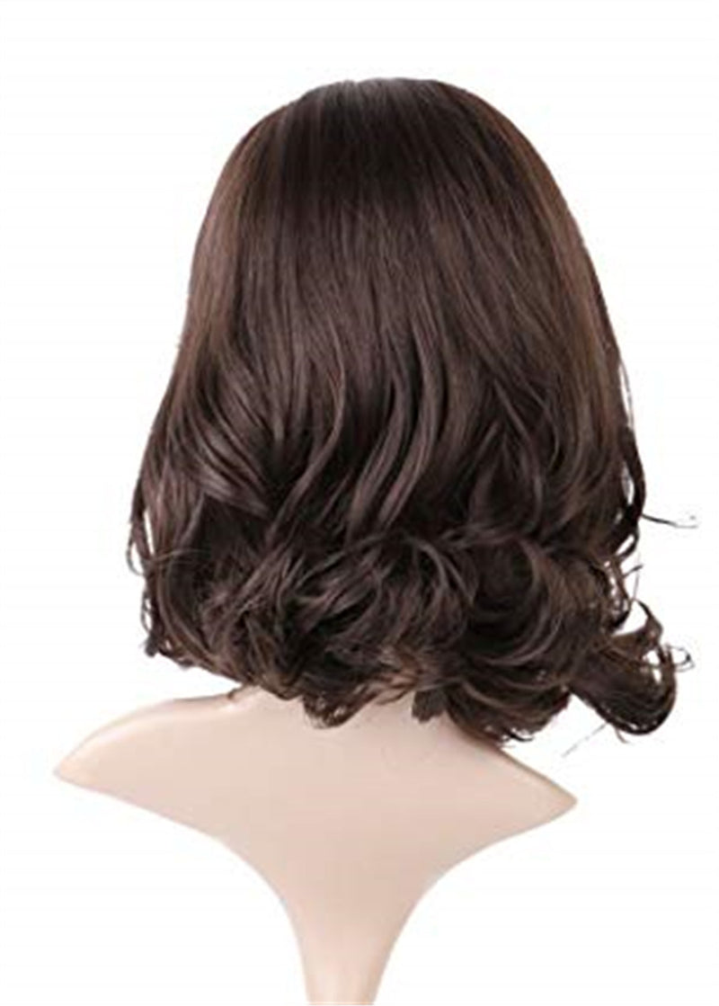Wavy Women Lace Front Cap Synthetic Hair 16 Inches Wigs